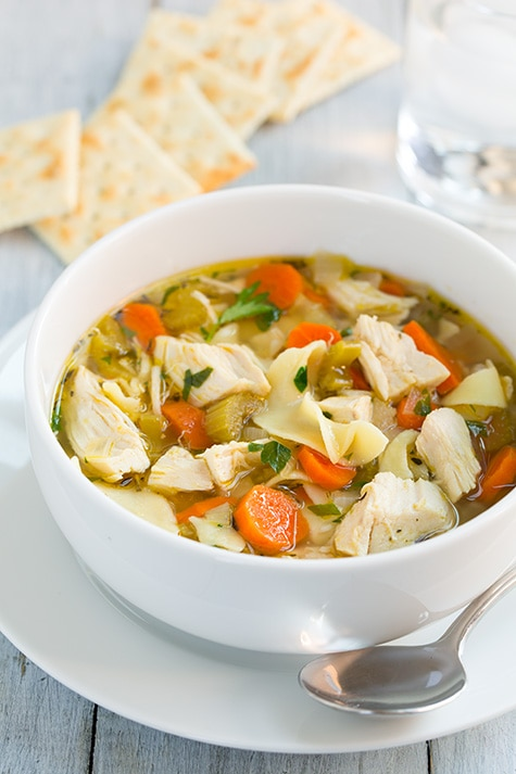 Slow Cooker Chicken Noodle Soup | Cooking Classy