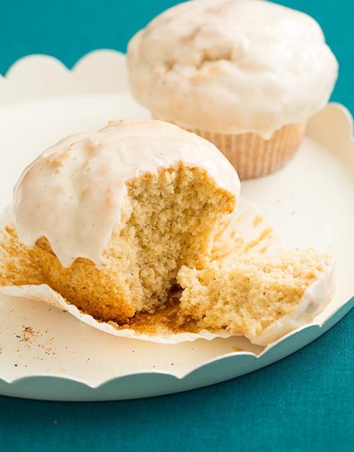 Eggnog Doughnut Muffins | Cooking Classy