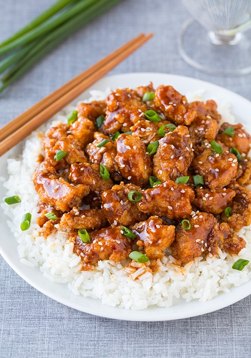 General Tso's Chicken Recipe — Dishmaps