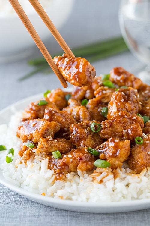 General Tso's Chicken - Cooking Classy
