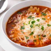 Lasagna Soup | Cooking Classy