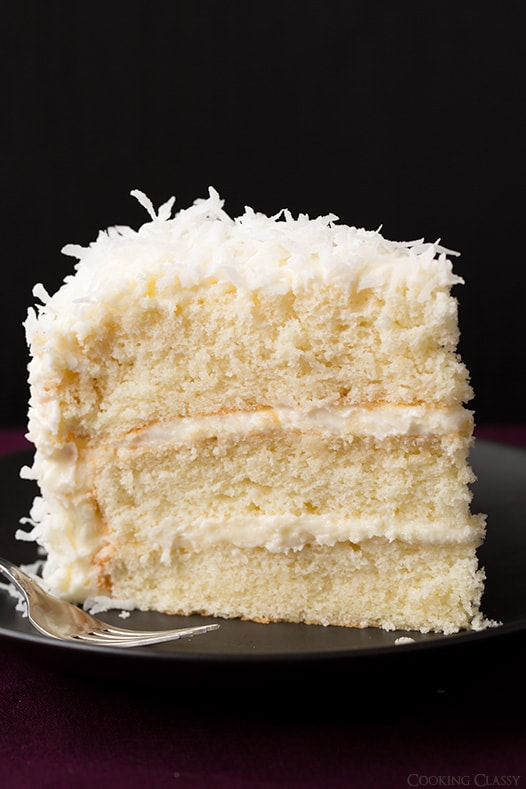 Coconut Cake Recipes With Pictures : Old-Fashioned Coconut Cake Recipe   Dishmaps