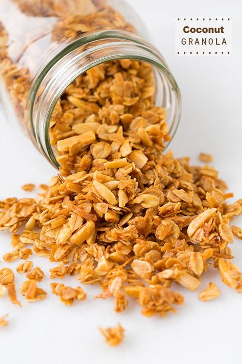 Coconut Granola | Cooking Classy
