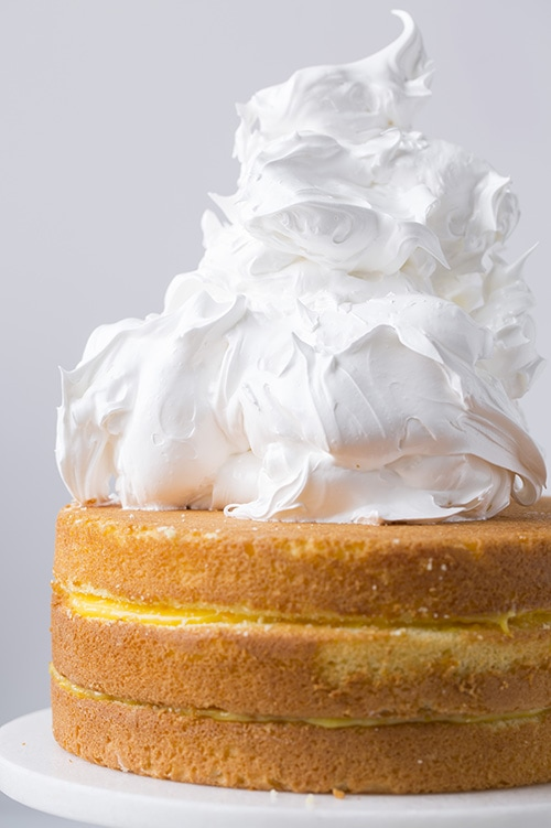 Orange Chiffon Cake with Meringue | Cooking Classy