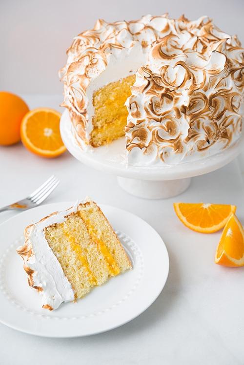 Orange Chiffon Cake Frosting