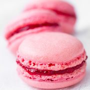 Raspberry Coconut Macarons | Cooking Classy