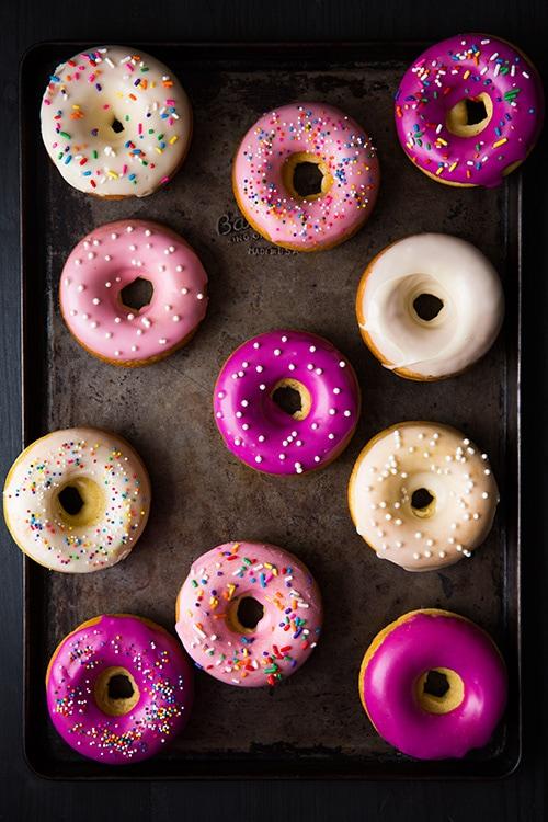 Baked Vanilla Bean Doughnuts | Cooking Classy