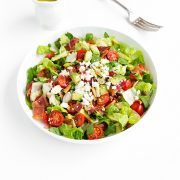 BLT Chopped Salad with Lemon Vinaigrette| Cooking Classy