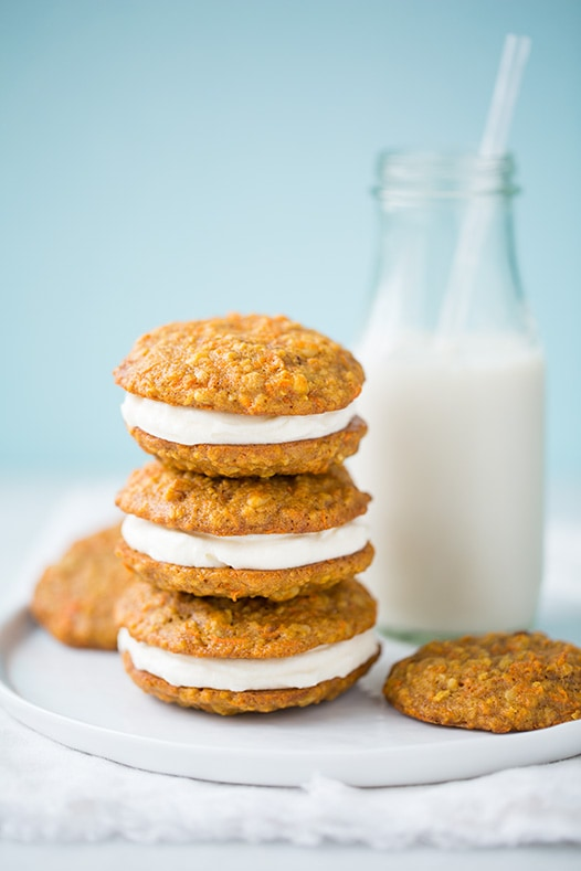 Carrot Cake Cookies Cooking Classy