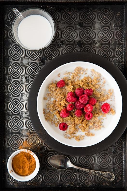 Chai Spiced Breakfast Quinoa | Cooking Classy
