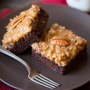 German Chocolate Brownies | Cooking Classy