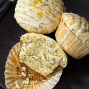 Lemon Poppy Seed Muffins | Cooking Classy