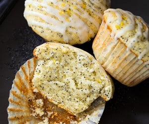 Lemon Poppy Seed Muffins   Cooking Classy