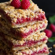 Raspberry Crumb Bars (easy dessert recipe) | Cooking Classy