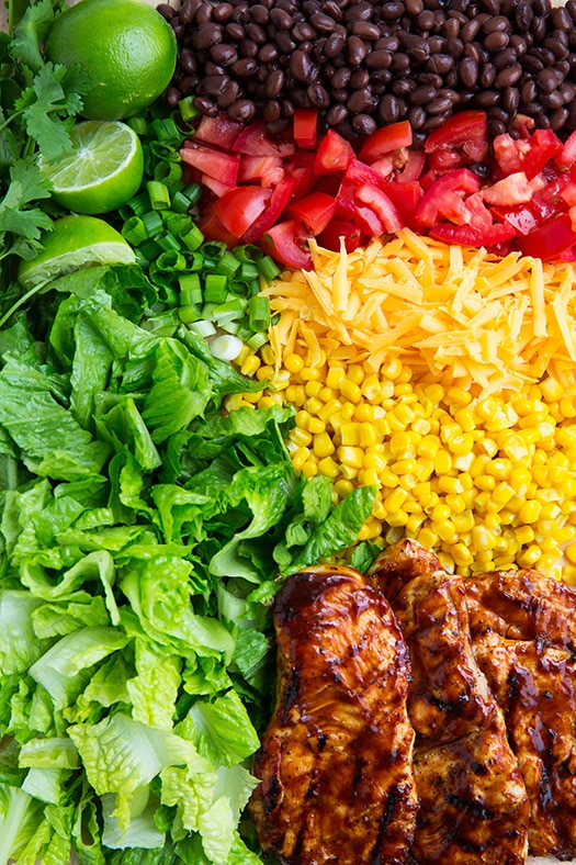 BBQ Chicken Salad with Cilantro Lime Ranch   Cooking Classy