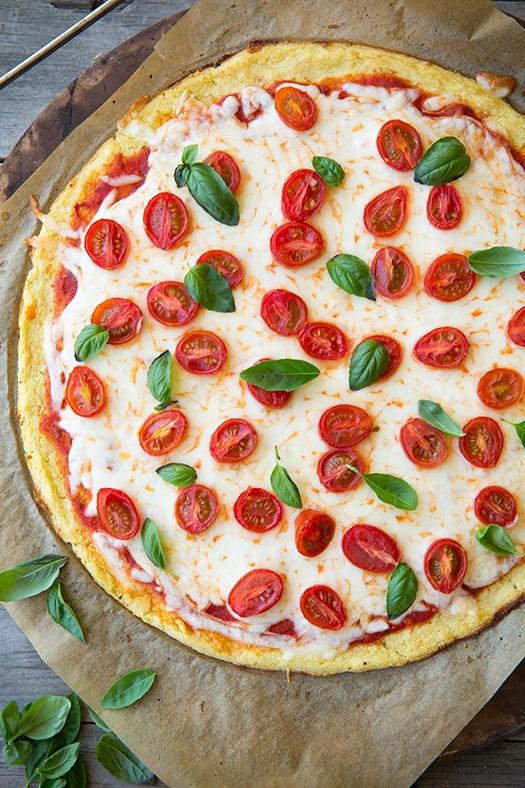 Cauliflower Pizza Crust | Cooking Classy