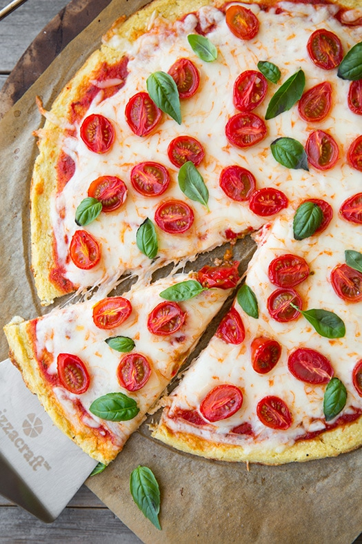 Cauliflower Pizza Crust | Cooking Classy