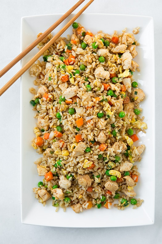 Chicken Fried Rice Quick Flavorful Recipe Cooking Classy