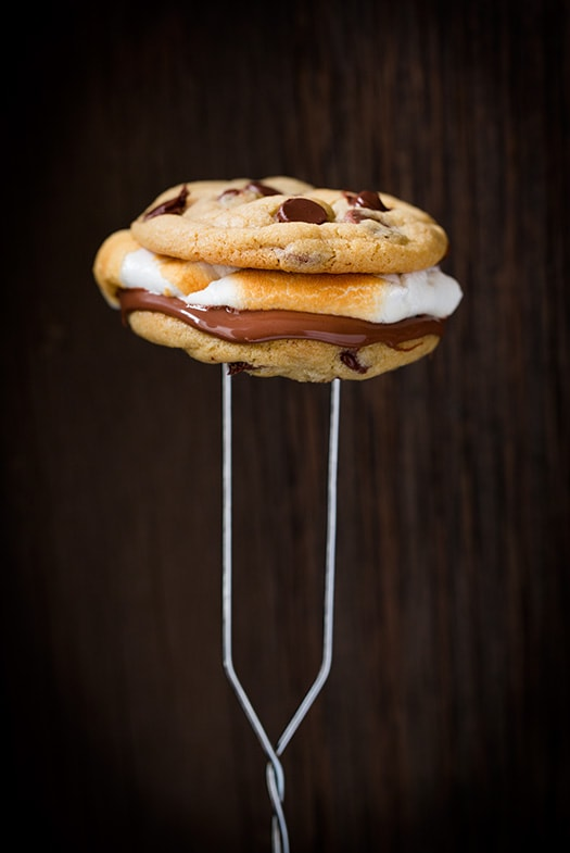 Chocolate Chip Cookie S'mores   Cooking Classy