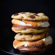 Chocolate Chip Cookie S'mores | Cooking Classy