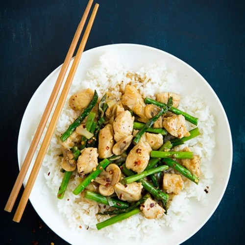 Ginger Chicken Stir Fry With Asparagus Cooking Classy