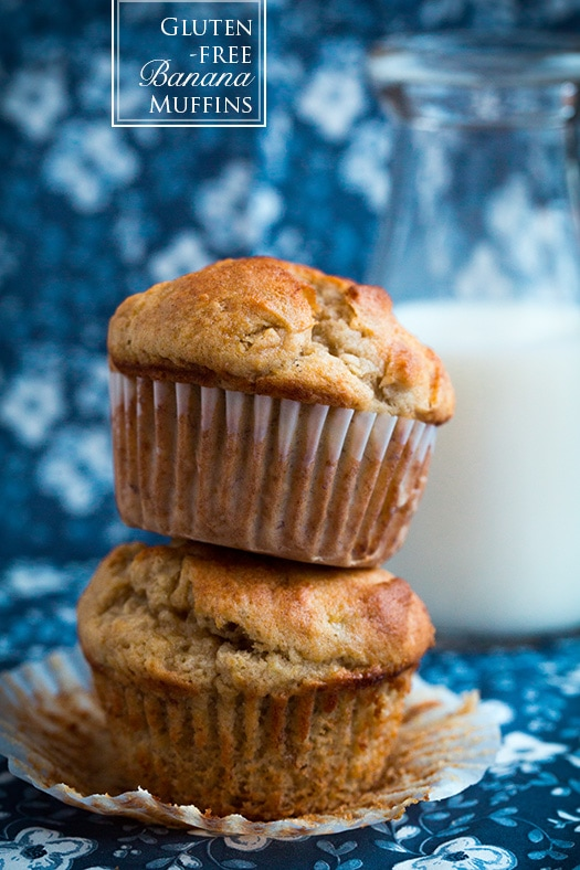Gluten-Free Banana Muffins | Cooking Classy