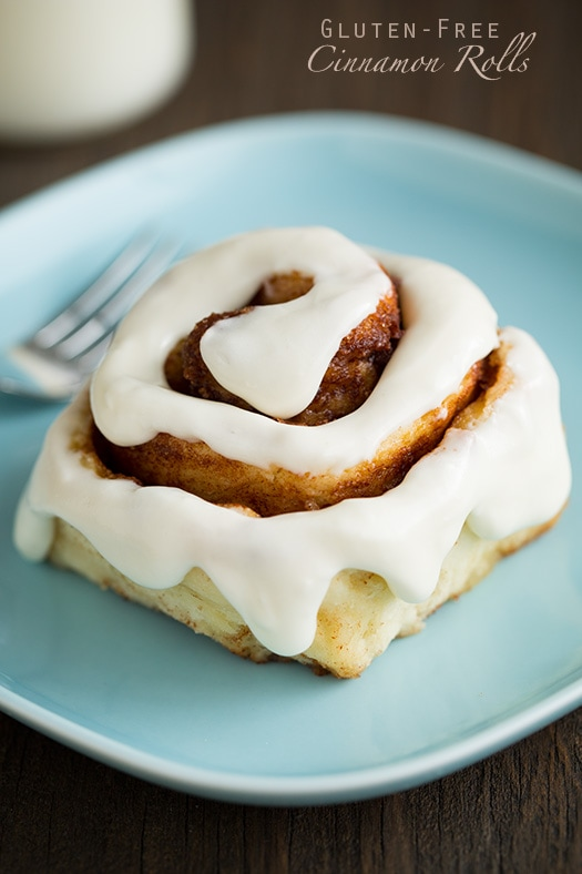 Hour Gluten-Free Cinnamon Rolls by Cooking Classy @FoodBlogs