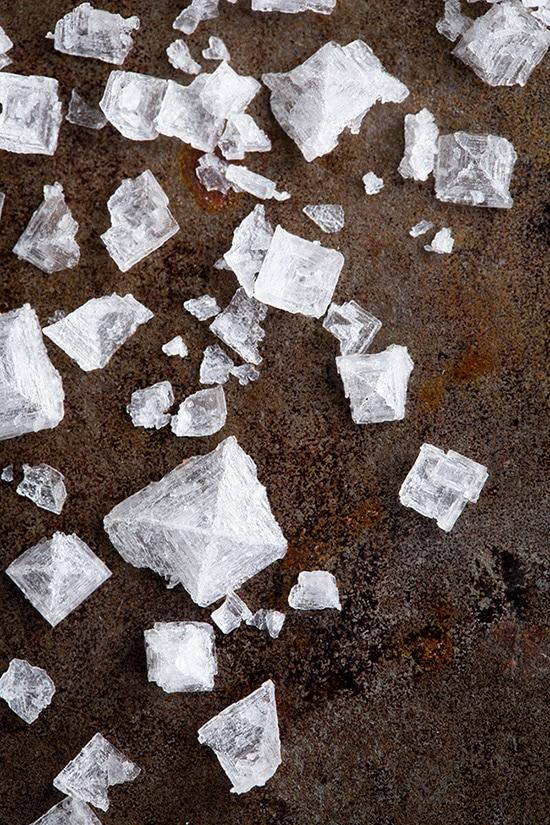 flakes of maldon sea salt