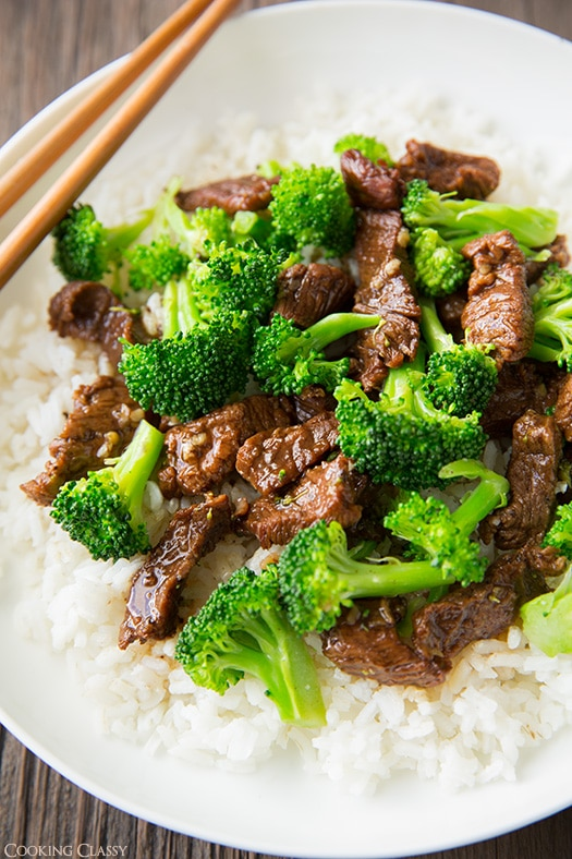 Slow Cooker Beef and Broccoli | Cooking Classy