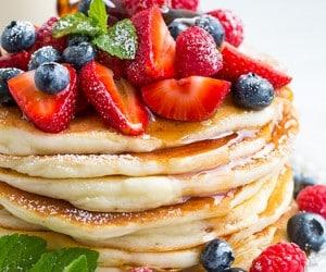 Gluten-Free Buttermilk Pancakes   Cooking Classy