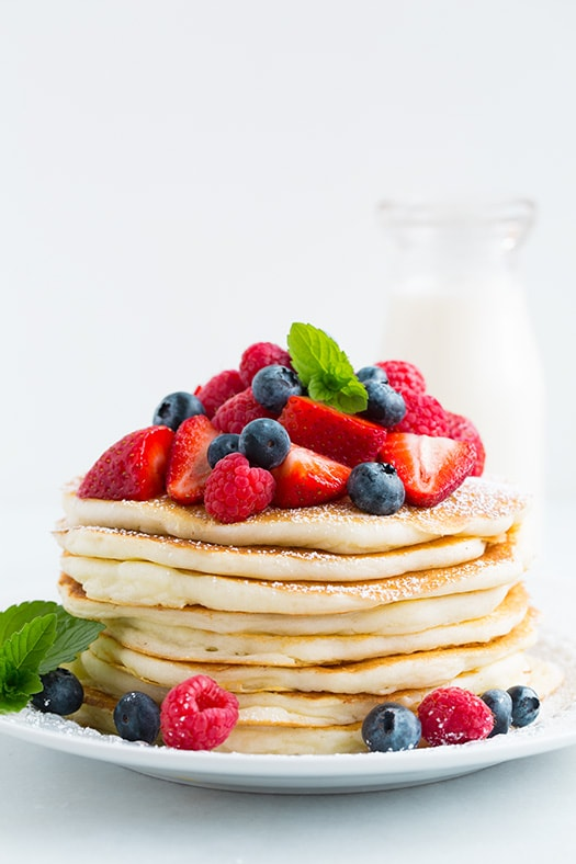 Gluten-Free Buttermilk Pancakes | Cooking Classy