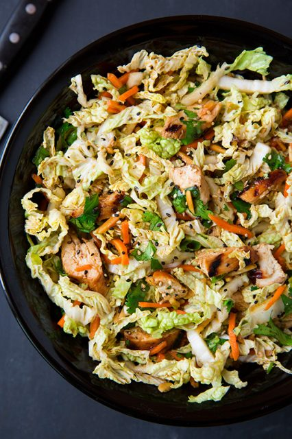 grilled ginger sesame chicken chopped salad more cook asian chicken ...