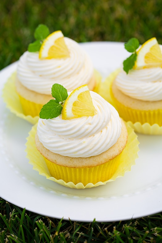 Lemon Cupcakes with Lemon Buttercream Frosting | Cooking Classy