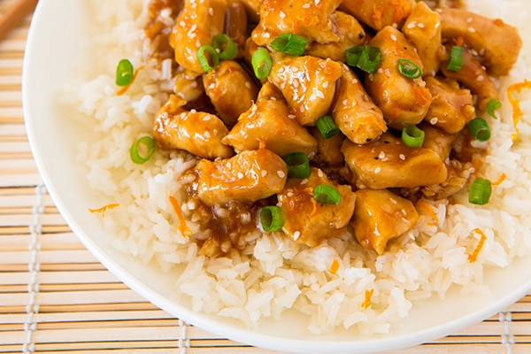 Lighter Orange Chicken | Cooking Classy