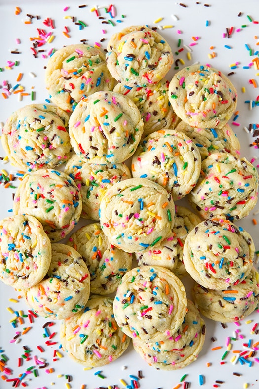 Funfetti Pudding Mix Cookies | Cooking Classy