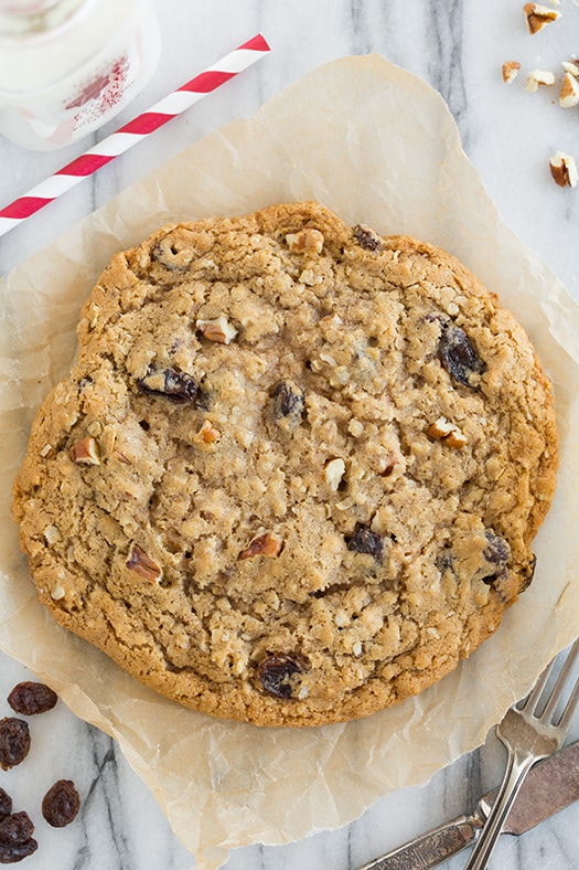 Recipe for just ONE Oatmeal Raisin Cookie | Cooking Classy