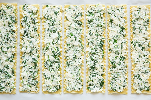 Spinach Four Cheese Lasagna Roll Ups   Cooking Classy