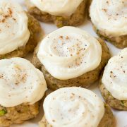 Zucchini Cookies with Cream Cheese Frosting | Cooking Classy