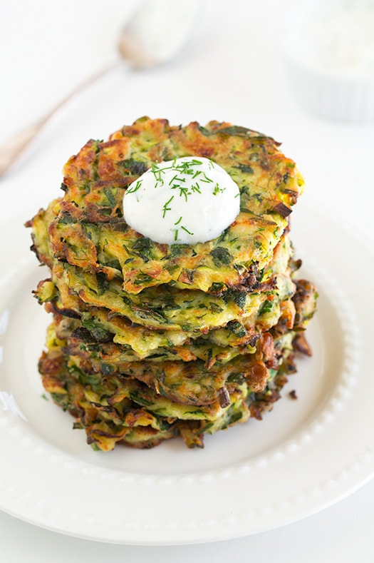Zucchini Patties with Feta | Cooking Classy
