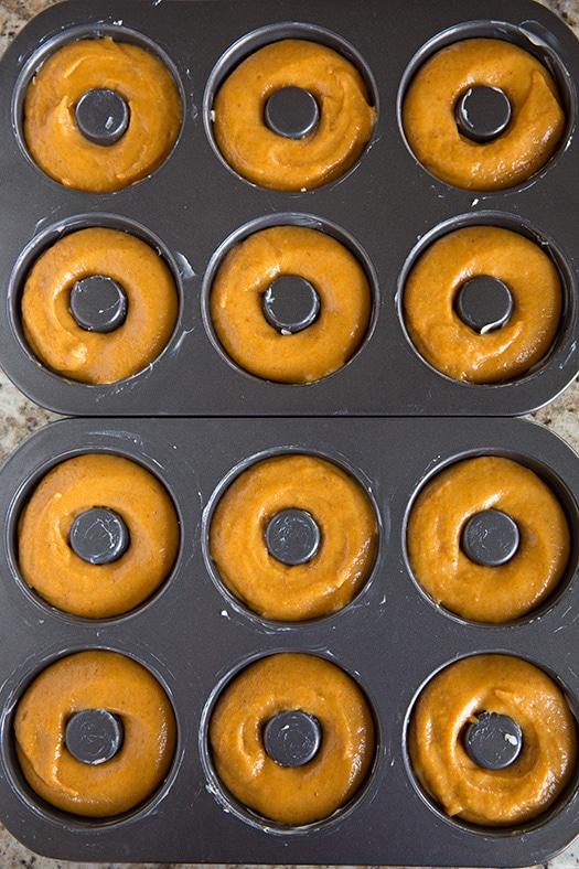 Pumpkin Doughnuts | Cooking Classy