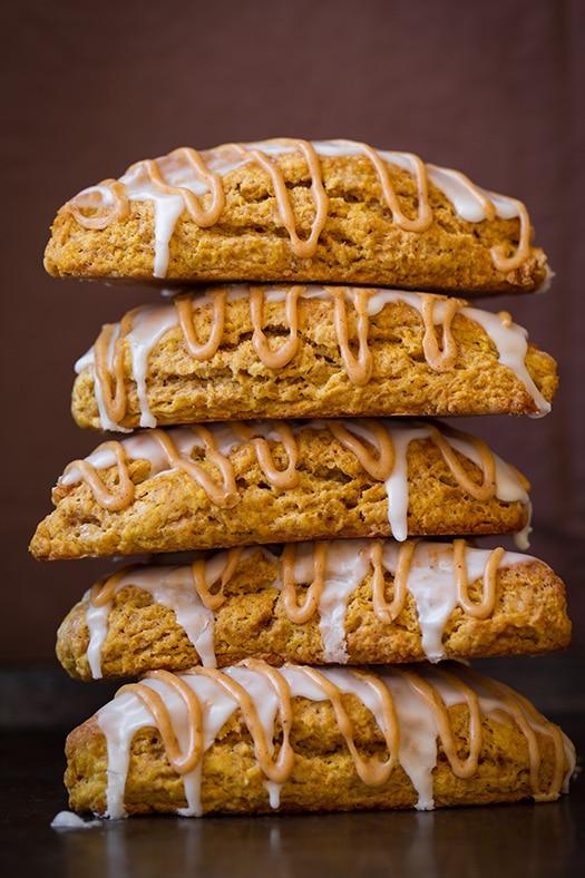 Pumpkin Scones (Starbucks Copycat) | Cooking Classy