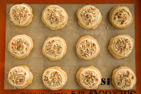 Caramel Apple Cookies   Cooking Classy