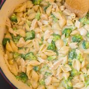Creamy Broccoli Chicken Shells and Cheese | Cooking Classy