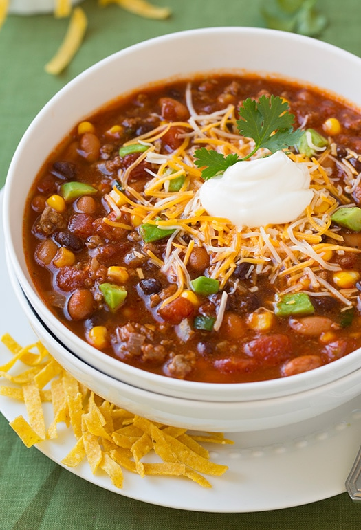Taco Soup | Cooking Classy