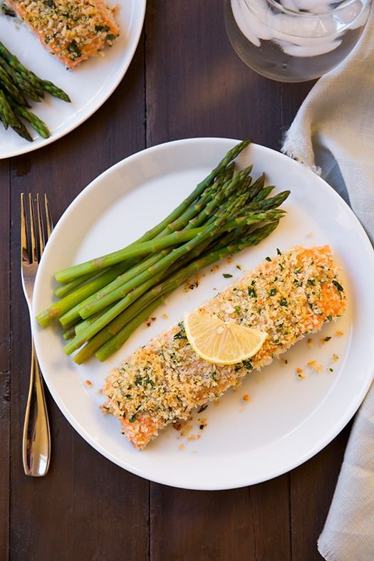 Panko Crusted Honey Mustard Salmon | Cooking Classy