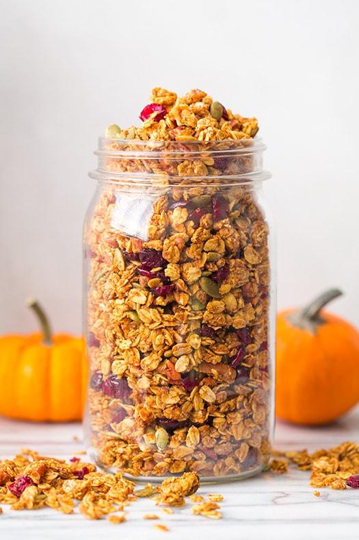 Pumpkin Granola | Cooking Classy