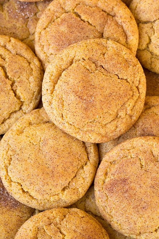 Pumpkin Snickerdoodles Recipe — Dishmaps