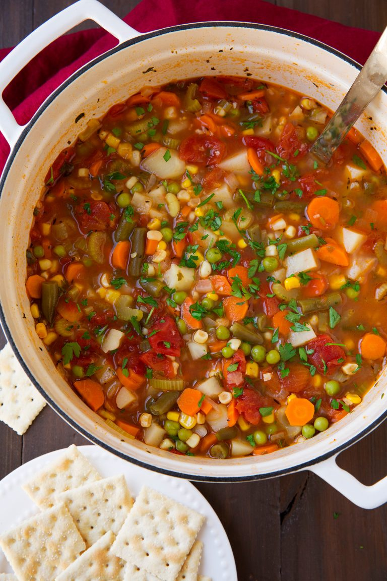 Cooking Classy ~ Vegetable Soup