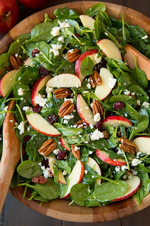 Chicken, Green Apple And Feta Salad Recipe — Dishmaps