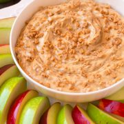 Toffee Apple Dip {3 Ingredients } | Cooking Classy